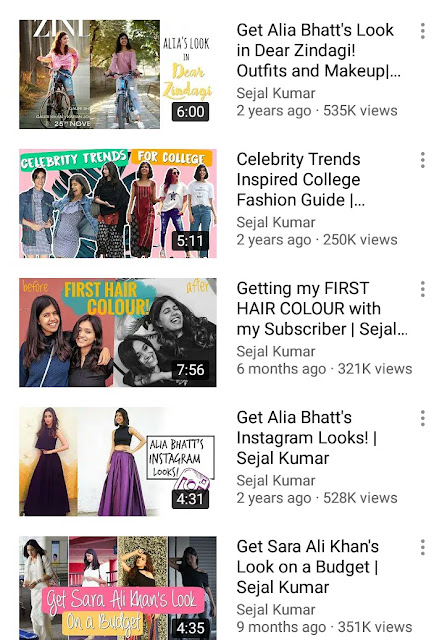 Youtube, Recreating trend