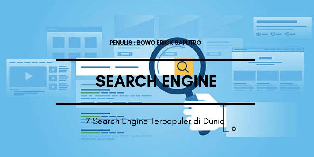 7 Search Engines Terpopuler Di Dunia