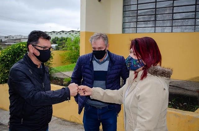 Escolas Municipais Isolina Ceccon e Elvira Nodari vão receber manutenção após anos de desleixo: O pedido foi feito pelo Vereador Vagner para o Professor Alcione