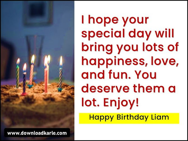 Happy Birthday Liam Cake, Images, Memes and Wishes