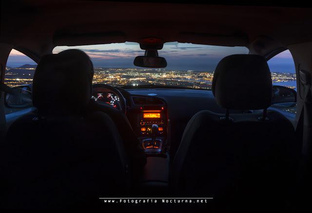Coche volador aproximándose al aeropuerto de Santander