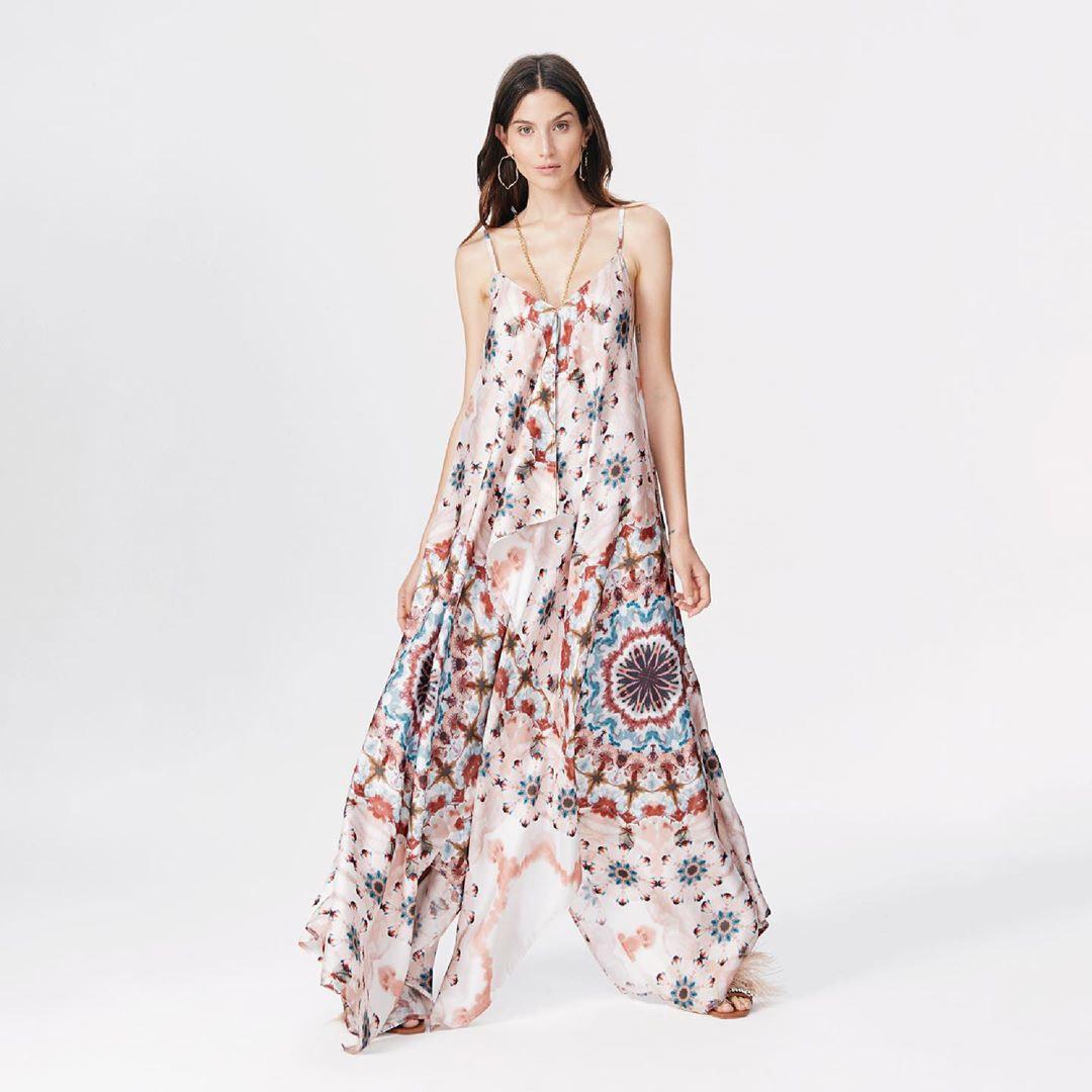 Vestidos largos primavera verano 2020 moda mujer.