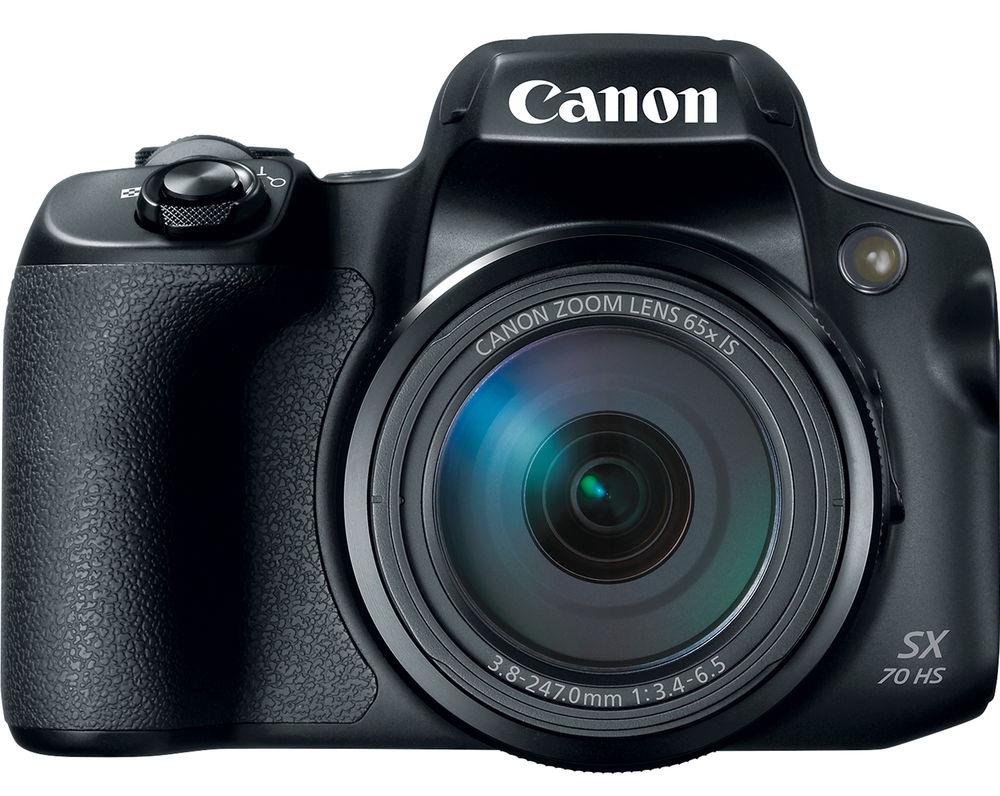 Canon PowerShot SX70 HS, вид спереди