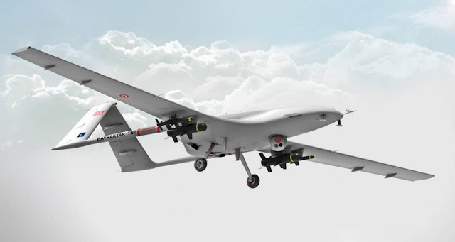 Image Attribute: The file photo of Byraktar TB2 (UAV)