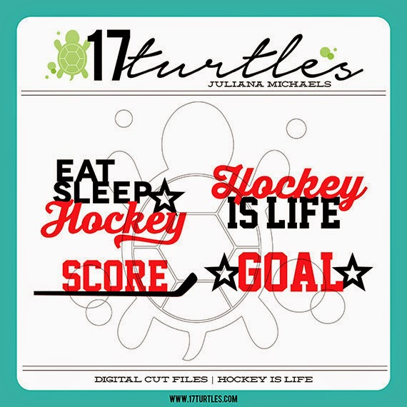 Hockey Is Life 17turtles Digital Cut Files Juliana Michaels