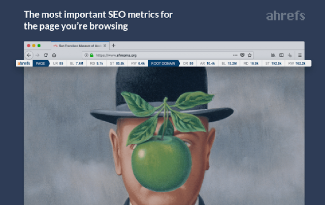 Ahrefs SEO Toolbar Top 10 Firefox Add-ons and Extensions for SEO