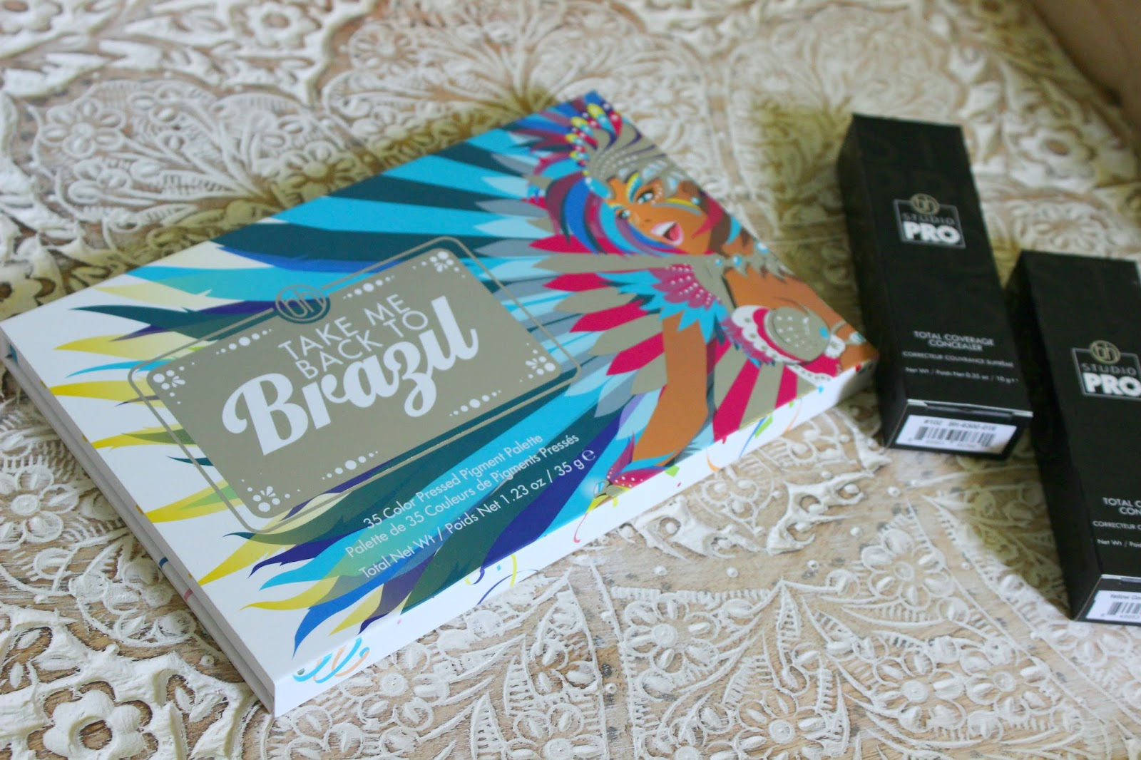 bh cosmetics take me back to brazil palette new studio pro concealers the ra diaries. Black Bedroom Furniture Sets. Home Design Ideas