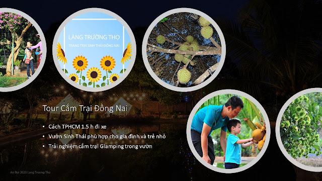 Tour Cắm Trại Đồng Nai - Vườn sinh thái Làng Trường Thọ