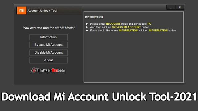 Mi Unlock Tool v4.5.514.47 - Free Download New Edition 2021