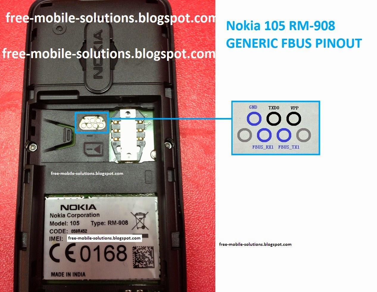 nokia 3310 battery pinout