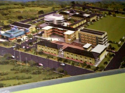 Site Plan Hidayatullah Boarding School