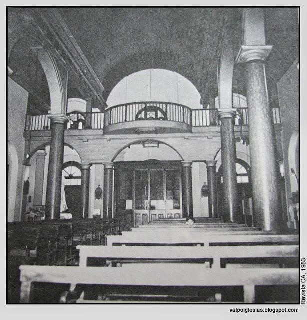 Iglesia San Francisco, Cerro Barón, Valparaíso