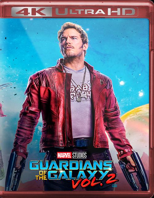 Guardians of the Galaxy Vol. 2 [2017] [UHD] [2160p] [Latino]