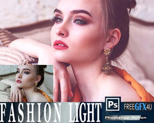 Fashion Light Leak Photoshop Action