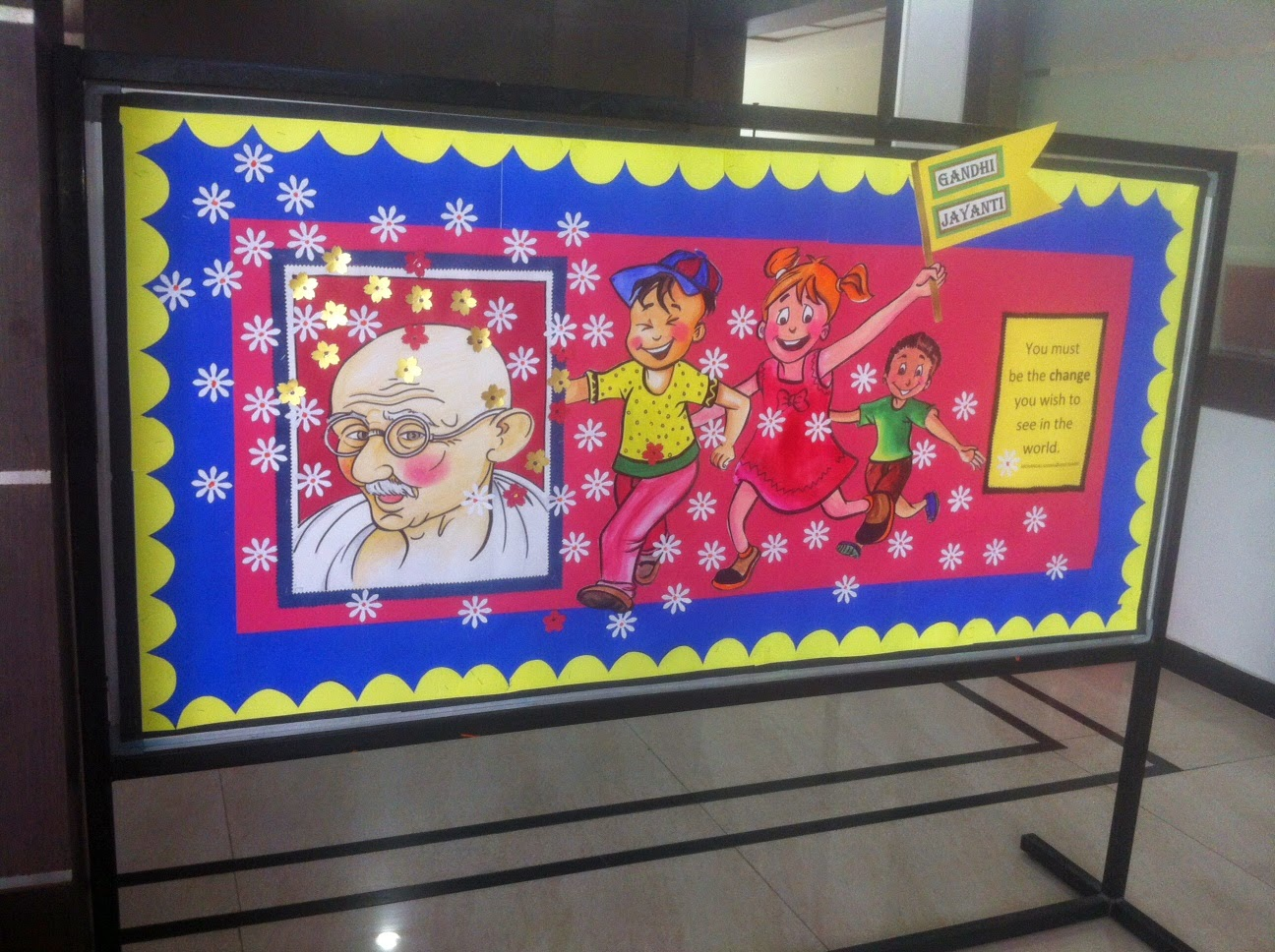 Art Craft Ideas And Bulletin Boards For Elementary Schools Gandhi