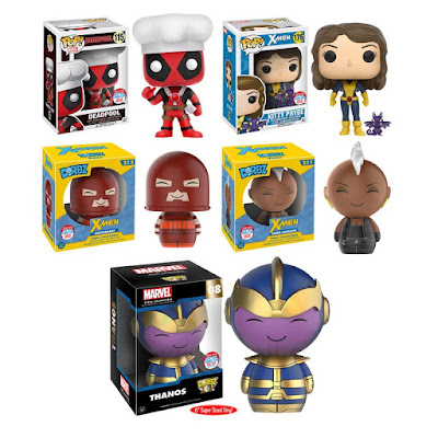 Funko's New York Comic Con 2016 Exclusives Wave 3 – Marvel's Deadpool Pop! & Thanos and X-Men Dorbz