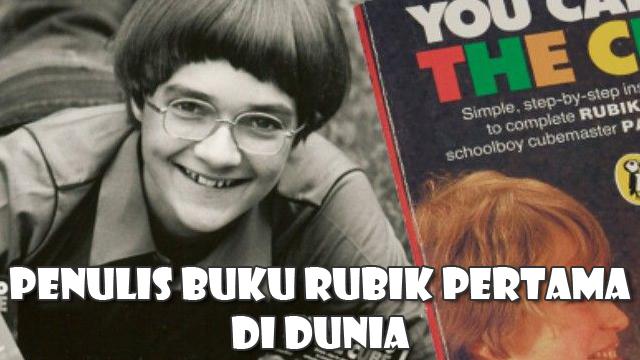 Patrick Bossert merupakan orang pertama yang menuliskan buku tutorial rubik pada saat usianya masih 12 tahun