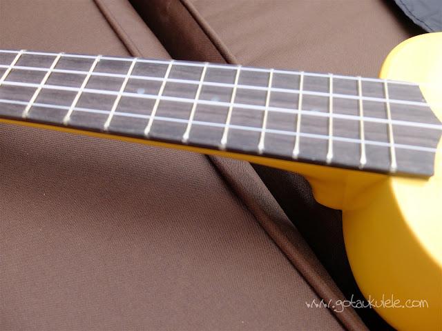 Tiger UKE7 Soprano Ukulele fingerboard