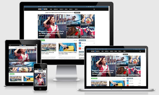 Download newspaper 9 Blogger Template Free