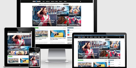 Newspaper 9 Blogger Template Free Download