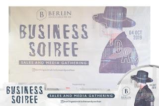 BUSINESS SOIREE @BERLIN GASTRO KITCHEN 4 OKTOBER 2019