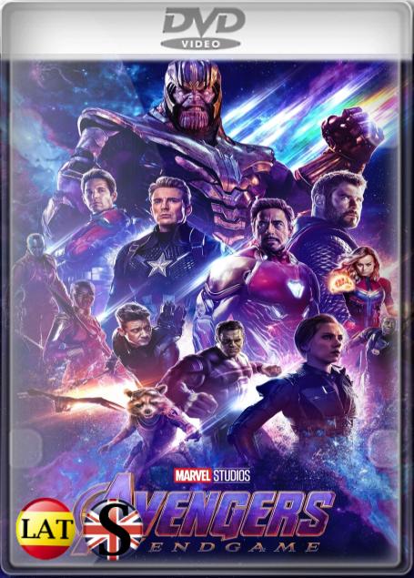 Vengadores: Endgame (2019) DVD5 LATINO/INGLES