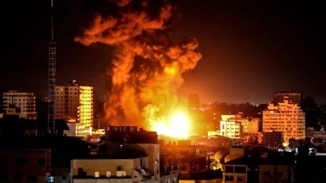 Hampir 200 Warga Palestina Tewas oleh Serangan Udara Pesawat Tempur Israel