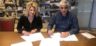 Υπεγράφησαν δυο προγραμματικές συμβάσεις μεταξύ του Δήμου Οιχαλίας και του Δικτύου Πόλεων «ΒΙΩΣΙΜΗ ΠΟΛΗ»