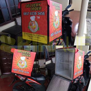 Tas delivery box makanan Surabaya bebek ndower