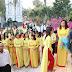 Quý Vị: Ban Hành Giáo Xứ Vinh Châu, Tu Sỹ & Các Giới Chúc Tết Bính Thân Quý Cha (hình ảnh)