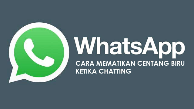 Cara mematikan tanda centang biru di chat