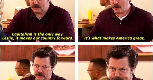 Breathtaking And Inappropriate Ron Swanson Loves America
