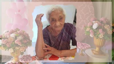 Dona Beliza chega aos 102 anos de idade