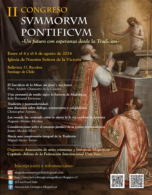 II Congreso Summorum Pontificum-Chile
