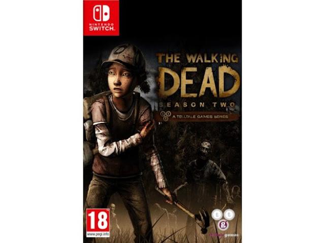 The Walking Dead 1 & 2 de Telltale es listado para Nintendo Switch