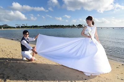 Hawaii Bridal Gown