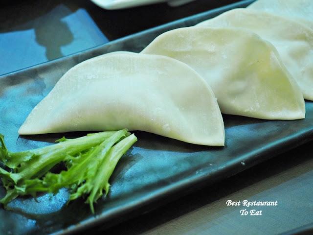 Seafood Dumplings 'Kao Zi