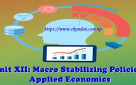 Unit XII: Macro Stabilizing Policies - Applied Economics