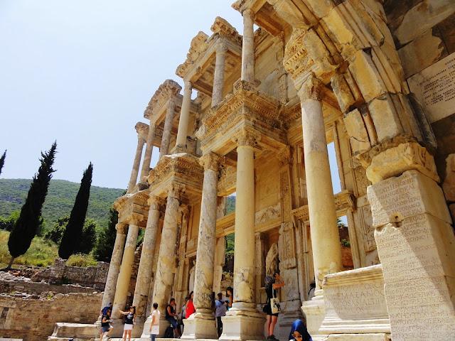 Éfeso, Turquia - Biblioteca de Celsus