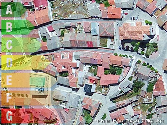certificado energetico de vivienda y local en pedrajas de san esteban