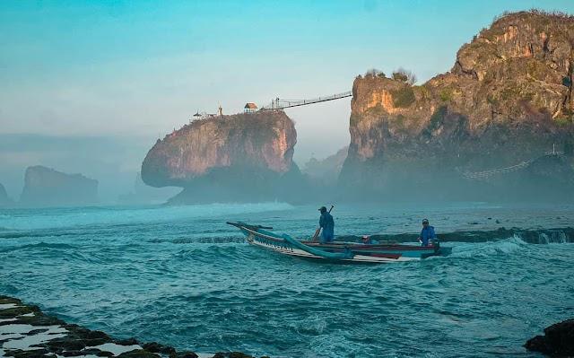 Pantai Siung Gunung Kidul, Wisata Alam dengan Pasir Putih