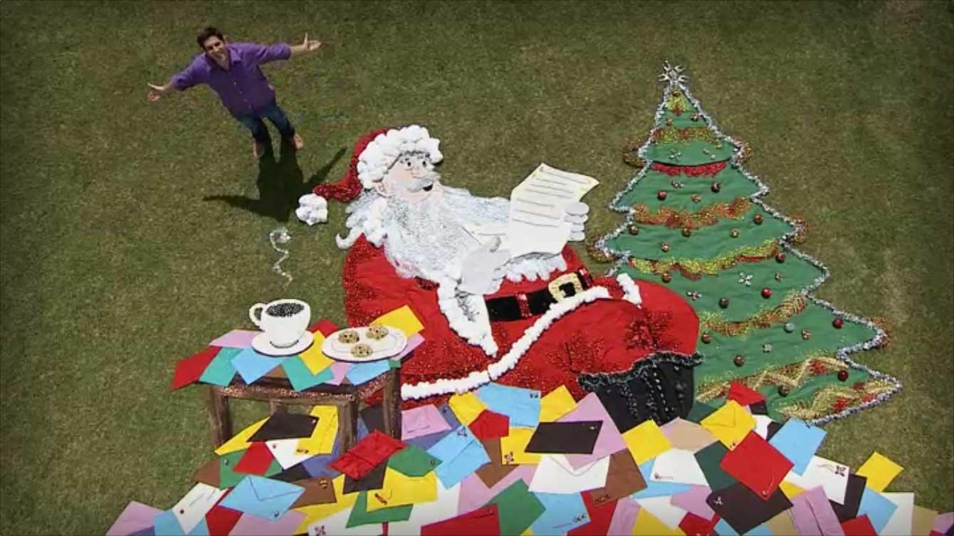 Navidad En Art Attack Por Disney Junior Arte Gigante Big Art