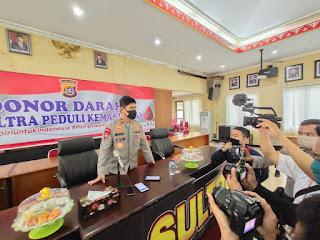 Pastikan Stok Darah PMI Aman, Polda Sulawesi Tenggara Gelar Donor Darah