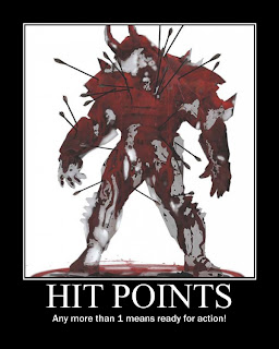 The Looney Dm Hit Points