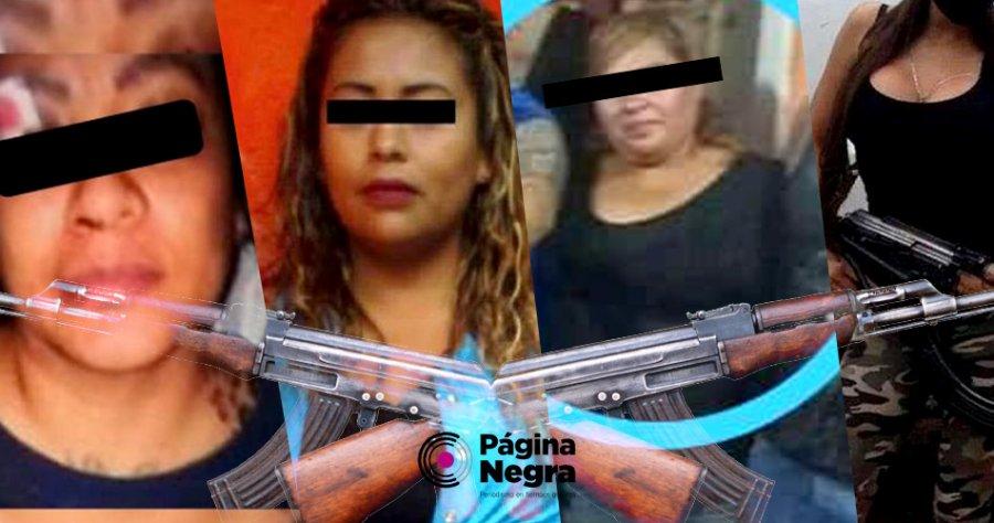 Cuatro mujeres controlan el Huachicol, el Huachigas y el Robo en Puebla: La Loba, La Negra, NarcoBety y La Reina del Sur