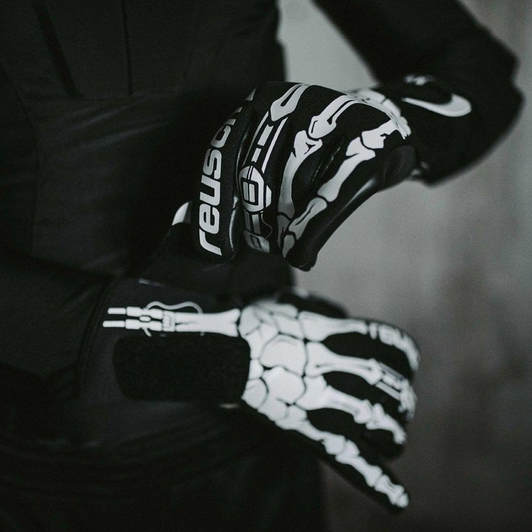 Halloween Themed Reusch Pure Contact X Ray Goalkeeper