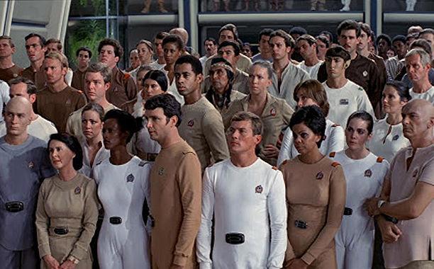 Star Fleet uniforms in Star Trek: The Motion Picture