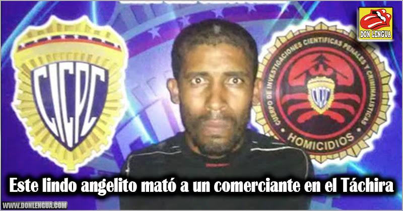 Este lindo angelito mató a un comerciante en el Táchira