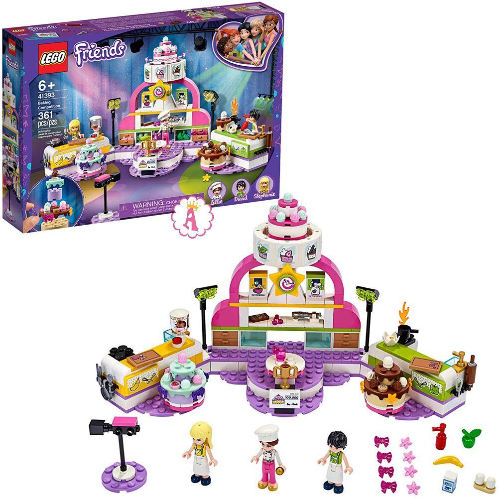 Соревнования по выпечке LEGO Friends 2020 Baking Competition 41393