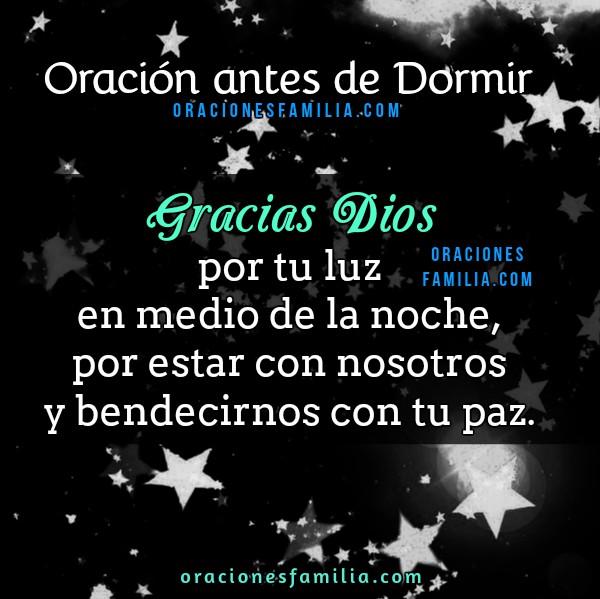Oración para la noche antes de dormir, oraciones cristianas con imágenes de buenas noches, mensajes cristianos con oraciones de familia por Mery Bracho.